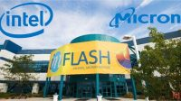 Ilustrasi Intel dan Micron