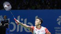 Jonathan Christie berhasil masuk perempat final Indonesia Open 2019 (net)