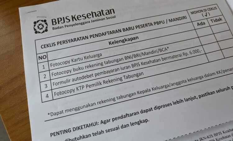 Dokumen pindah kepesertaan BPJS Kesehatan yang harus disiapkan