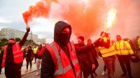 demonstrasi paris