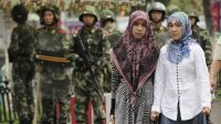 Turis asal Malaysia ditangkap saat sedang ibadah di Masjid Uighur (net)