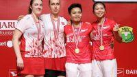 Greysia Polii dan Apriani Rahayu Juara Indonesia Masters 2020 (net)