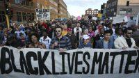 Aksi solidaritas Black Live Matter (net)