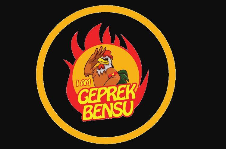 Logo I Am Geprek Bensu (Sumber: Net)
