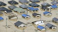 Banjir bandang tewaskan puluhan orang di Jepang (net)