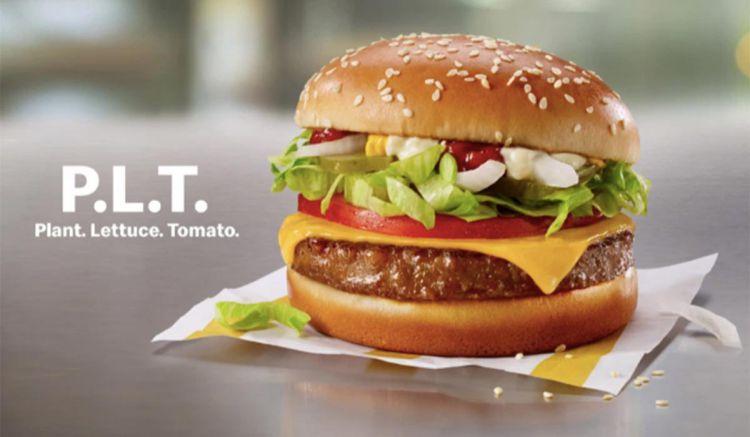 """Mcdonald perkenalkan daging nabati untuk vegetarian """"McPlant"""" (net)"""