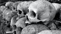 119 tengkorak ditemukan di Kota Meksiko diduga untuk ritual persembahan dewa zaman dulu (net)