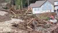Banjir dan longsor landa alaska, 2 orang dinyatakan menghilang (net)