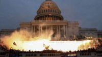 Donald Trump disebut otak kerusuhan di gedung capitol (net)