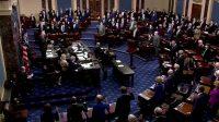 Senat partai republik ramai-ramai batalkan pemakzulan Donald Trump (net)