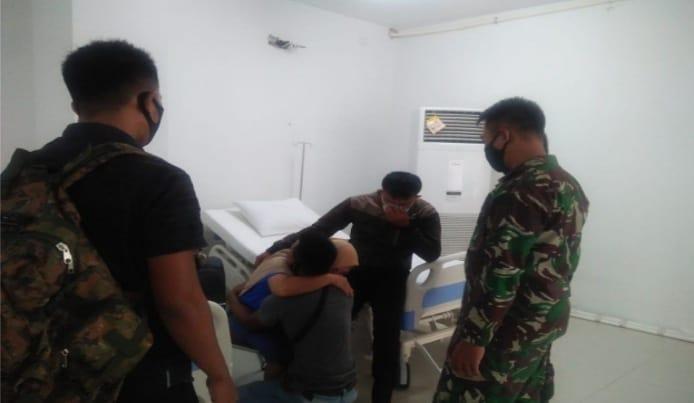 Prajurit Paskhas Gagal Upaya Pasien Corona Nekat Melakukan Percobaan Bunuh Diri di RSD Wisma Atlet 1