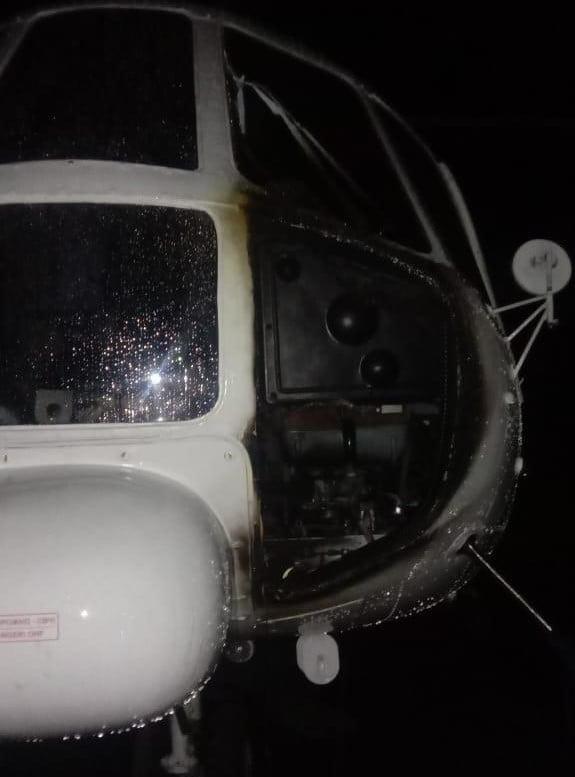 Kejam..Helikopter Dibakar KKB di Bandara Amingganu, Papua 1