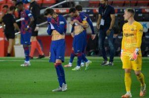 Barcelona buang kesempatan duduki puncak klasemen LaLiga (NET)