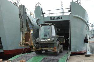 Misi Penanggulangan Bencana di NTT dan NTB, Jendral Andika Perkasa Lepas Dua Kapal ADRI 1