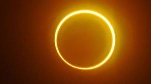 Fenomena matahari cincin di Kanada akan berlangsung lebih dari 1 jam (NET)