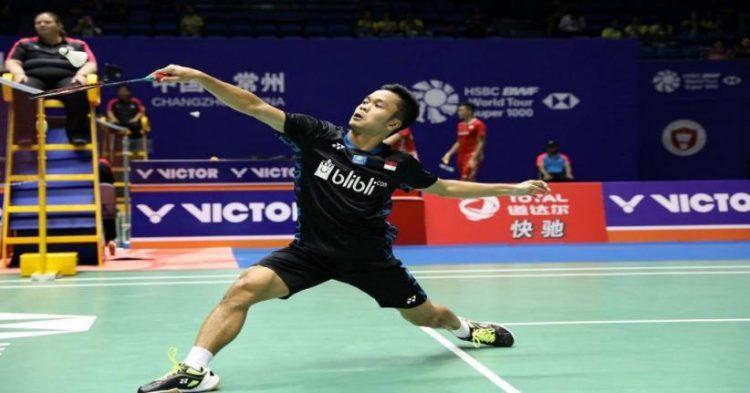 Anthony Ginting berhasil melaju ke perempat final olimpiade Tokyo 2020 (NET)