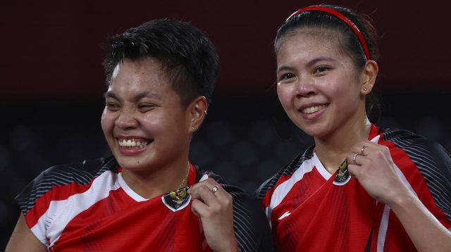 Lolos ke final Olimpiade Tokyo 2020, Greysia/Apriyani ukir sejarah baru (NET)