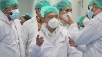 Satgas Covid-19 DPR RI sidak ke pabrik obat di Bandung