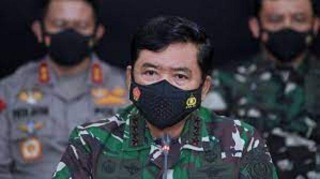 Panglima TNI Marsekal Hadi Tjahjanto Terima Booster Scretome