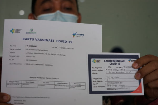 Pemprov DKI Berencana Sertifikat Vaksin Covid-19 Dijadikan Persyaratan Beraktivitas di Ibukota