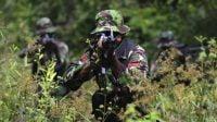 Ratusan Prajurit TNI Diterjukan ke Markas Pasukan Elite Amerika Serikat