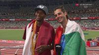 Momen haru di olimpiade Tokyo, dua atlet ini berbagi medali emas (NET)