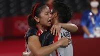 Ganda putri Indonesia raih medali emas olimpiade (net)