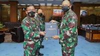 Sembilan Pati TNI AU Terima Kenaikan Pangkat
