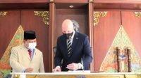 Menhan Prabowo Subianto Terima Kunjungan Menteri Pertahanan Australia