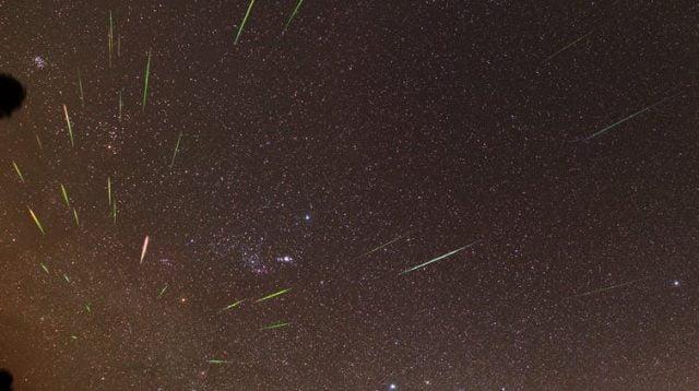 Meteor hantam Bumi bersamaan di langit Amerika Serikat (net)