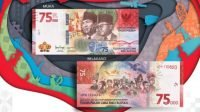 Bank Indonesia Akui Ada Penolakan Uang Pecahan Rp 75 Ribu oleh Pedagang