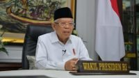 Wapres Maruf Acungi Jempol Capaian Vaksin Covid-19 di Jakarta