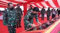 Panglima TNI Resmikan Monumen Tri Matra dan Markas Kogabwilhan