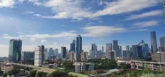 BMKG Prediksi Jakarta Hari Ini Cerah Berawan