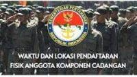 Siap-siap, Kemhan Bakal Buka Pendaftaran Calon Anggota Komponen Cadangan TA 2022